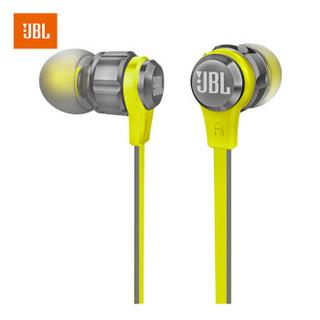 JBL T180A 立体声入耳式耳机 耳麦 运动耳机 带麦可通话 游戏耳机 灰色