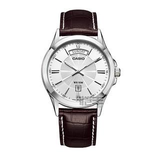 CASIO卡西欧男士指针时尚商务男士石英腕表