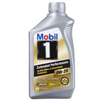 Mobil 美孚 1号 金装长效EP 全合成机油 0W-20 1Qt 4瓶装