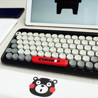 LOFREE 洛斐 熊本熊 DOT圆点蓝牙机械键盘 无线复古键盘熊本熊键盘套装