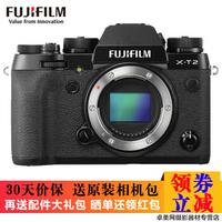 FUJIFILM 富士 X-T2 / XT2 微单电数码相机 黑色单机身 + 18-55mm 镜头套机