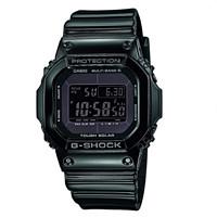CASIO 卡西欧 G-SHOCK GW-M5610BB-1ER 男士太阳能电波腕表
