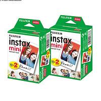 FUJIFILM 富士 INSTAX mini7s 8 25 9 90 7c立拍得胶片相纸 (40片)