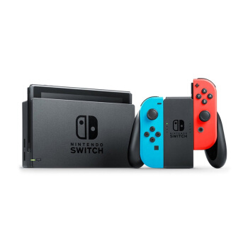 Nintendo 任天堂 Switch 游戏机 红蓝手柄 日版