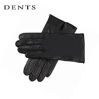 Dents 007邦德电影skyfall羊皮手套 黑色 S