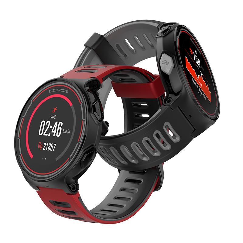 COROS 高驰 PACE 综合运动手表 红黑色