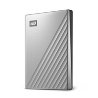 Western Digital 西部数据 My Passport Ultra Type-C 移动硬盘 4TB