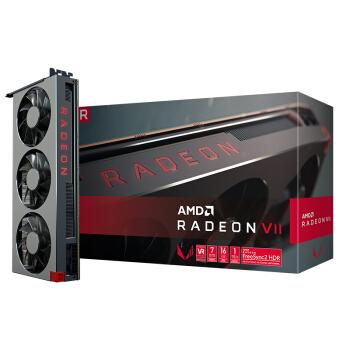 AMD Radeon VII  显卡 灰色(Radeon VII、16GB、1000MHz)