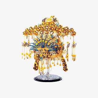 piececool 拼酷 PG系列 P115-GBK 儿童拼插模型玩具 凤冠