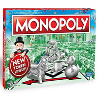 Hasbro 孩之宝 Monopoly 地产大亨 C1009 经典版