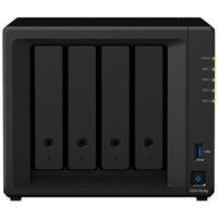 群晖(Synology)DS418play 双核心 4盘位NAS网络存储服务器 (无内置硬盘 )
