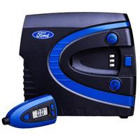 福特(FORD)汽车用品充气泵 预设胎压 车载数控自动打气泵 带可拆卸胎压计表C40A