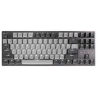 DURGOD 杜伽 TAURUS K320 87键机械键盘 (Cherry银轴、深空灰、白色背光、有线)