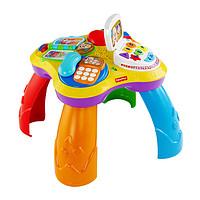Fisher Price 费雪小狗皮皮学习桌 双语1-3岁婴幼儿益智塑料玩具包装尺寸56*13.5*40.5 BJV34+凑单品