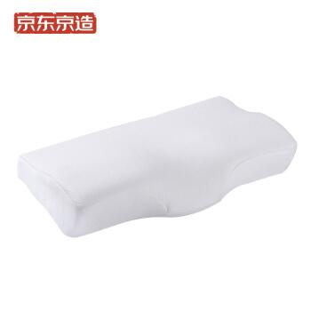 京东京造 记忆枕 (白色、单人、50*30*10.6cm、单只装、记忆枕)
