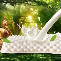 梦洁家纺 MAISON 枕头 泰国原装进口 三维颗粒SPA美颜乳胶枕 36*59cm