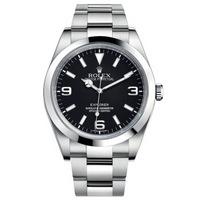 劳力士(ROLEX)手表 探险家系列自动机械男表214270-77200黑盘条钉数字