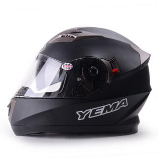摩托車頭盔 均碼 亞黑