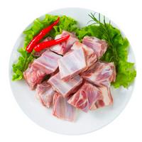 月盛斋 新西兰进口 羊排块 500g/袋