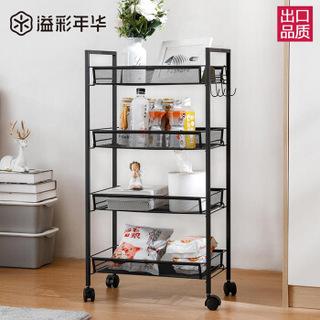 溢彩年华 YCI1060-BK 厨房置物架 4层