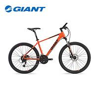 GIANT 捷安特 952504 ATX 720新款27速油压碟刹变速男山地自行车 (荧光亮橙、26英寸)