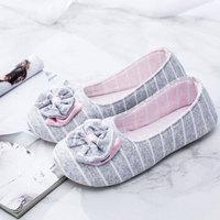 贝莱康(Balic) 孕产妇月子鞋 春夏季透气款包跟产后防滑透气孕妇鞋 灰色M码