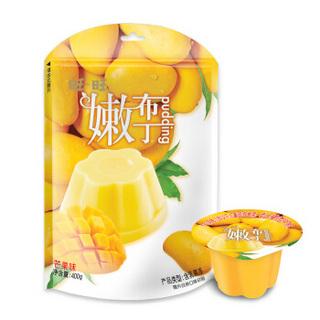 旺旺 嫩布丁 香甜芒果味 果冻零食 400g