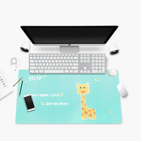 BUBM 旅行办公加热保暖桌垫电脑暖手桌面发热电热板书写台板写字台鼠标垫儿童学习桌垫 JRZD小鹿触控开关款