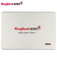 金百达(KINGBANK) 360GB SSD固态硬盘 SATA3接口 KP330