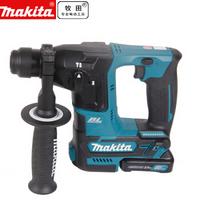 makita牧田锂电无刷充电式电锤12V两用轻型冲击钻HR166DSAJ 蓝色 HR166DSAJ 2.0Ah