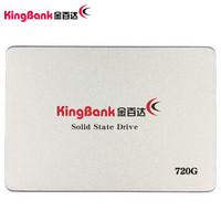 金百达(KINGBANK) 720GB SSD固态硬盘 SATA3接口 KP330