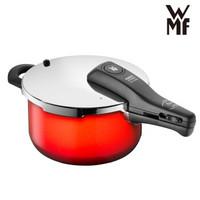 WMF福腾宝德国原装进口高压力锅燃气电磁炉通用 奈彩米快易锅4.5L RDS(红色)