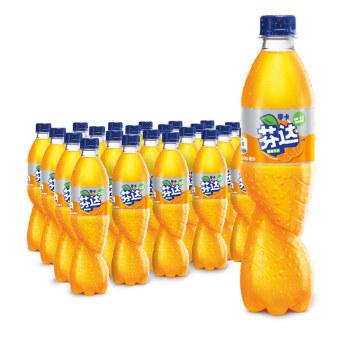 Fanta 芬达 零卡 Zero 碳酸饮料 500ml*24瓶