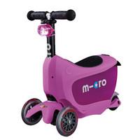 m-cro 米高 MMD031 儿童滑板车 迷你储物箱滑板车 推杆可拆卸三轮儿童滑板车 (粉红色)