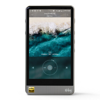 海贝(HiBy)R6Pro 骁龙处理器安卓播放器 DSD256硬解 4.4平衡输出 HIFI便携播放器 MP3 不锈钢银色