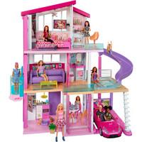 芭比 Barbie 新版梦想豪宅大礼盒 女孩玩具礼品套装 FHY73