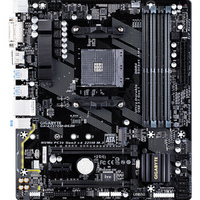 GIGABYTE 技嘉 AX370M-DS3H主板 (AMD X370/Socket AM4)