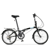 大行 (DAHON )折叠自行车 20寸超轻6速通勤成人男女休闲折叠单车HAT060 黑色