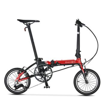 DAHON 大行 K3 迷你14寸 KAA433 折叠自行车 黑红色