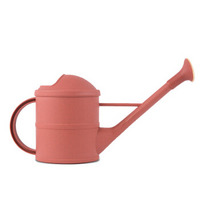 农宝 欧式长嘴洒水壶 手提式喷壶盆栽植物浇花壶  园艺浇水工具 1.6L砖红色
