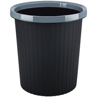 may flower 五月花 11L压圈垃圾桶环保分类塑料垃圾篓 家用厨房卫生间办公耐用大容量纸篓WYH-GB101