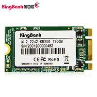 金百达(KINGBANK) 120GB SSD固态硬盘 M.2 2242接口 KM200