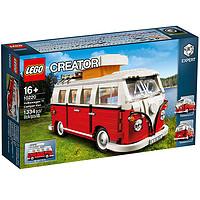20日0点:LEGO 乐高  Creator创意百变高手系列 10220 大众T1露营车