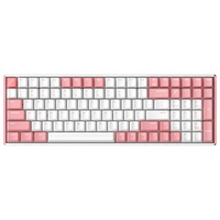 IQUNIX F96 粉色版 蓝牙机械键盘