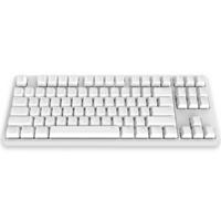 iKBC W200 机械键盘 红轴 白色 无光 无线 87键