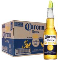 Corona 科罗娜 黄啤酒 (330ml、24瓶、4.5度、瓶装)