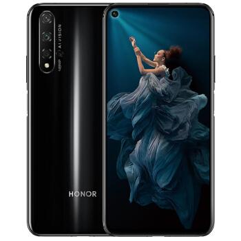 HONOR 荣耀20 智能手机 (8GB、256GB、4G、幻夜黑)
