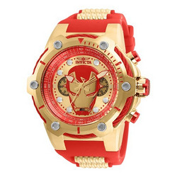 Invicta × Marvel 钢铁侠 IN-26906 男士腕表