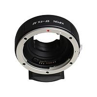 KIPON EF-FX AF 佳能EF镜头转接富士FX微单机身自动对焦转接环