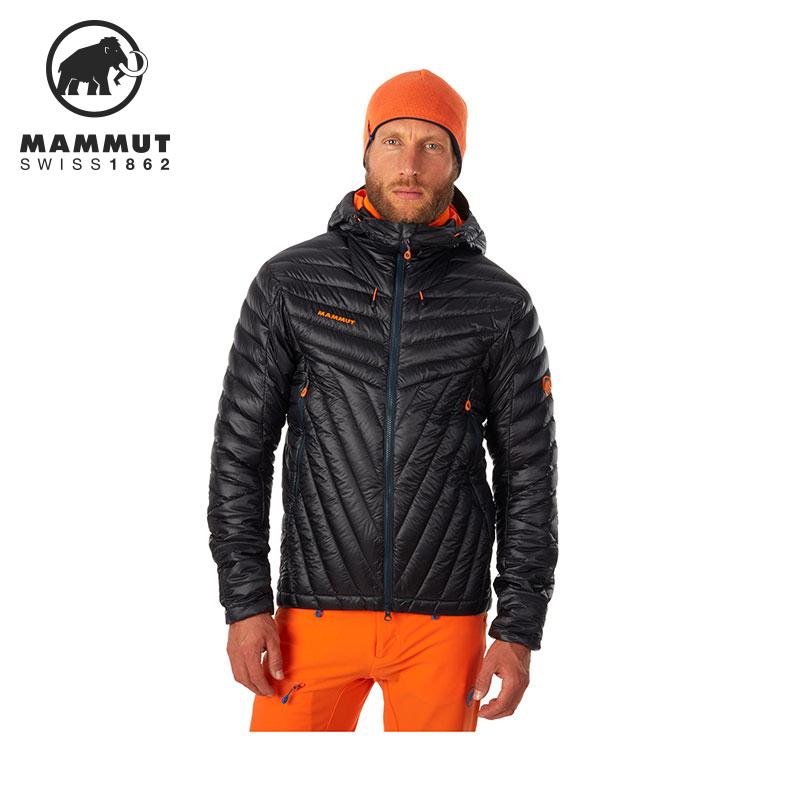 MAMMUT/猛犸象 男士户外艾格极限轻量保暖连帽羽绒服